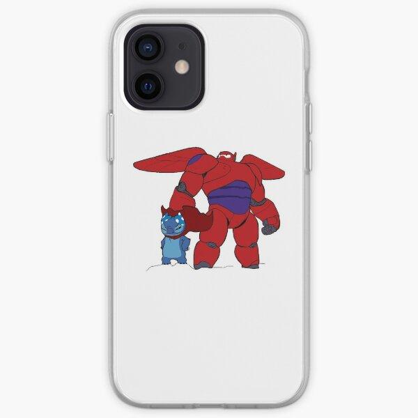 BIG HERO AND STITCH iPhone Soft Case