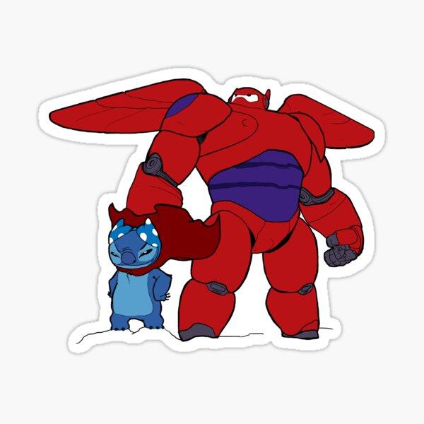 BIG HERO AND STITCH Sticker