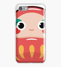 Japanese Daruma (female) iPhone Case/Skin