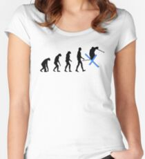 Evolution Ski Women's Fitted Scoop T-Shirt