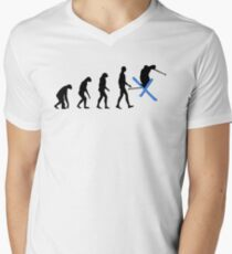 Evolution Ski Men's V-Neck T-Shirt