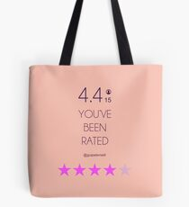 BLACK MIRROR Tote Bag