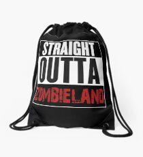 Straight Outta Zombieland Drawstring Bag