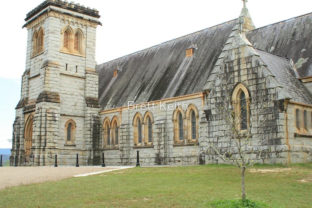 Bodalla Church by Brett Keith
