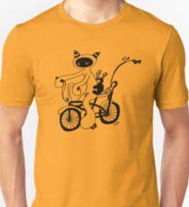 Wanna race (outline) Unisex T-Shirt