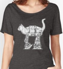 Star Wars - Cat-Cat Imperal Walker Women's Relaxed Fit T-Shirt