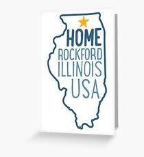 Rockford Home Greeting Card