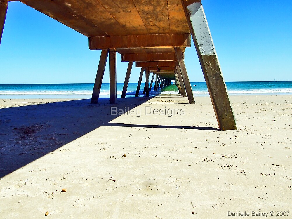 Glenelg Jetty, South Australia by Bailey Designs