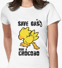 Chocobo!  Womens Fitted T-Shirt