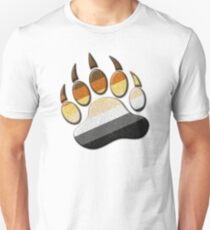 Gay Bear Pride Paw  Unisex T-Shirt