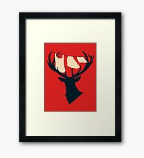 Domestic Stag Framed Print