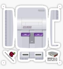 Nintendo SNES (USA) Skin for the Official case [Get the MEDIUM size] Sticker
