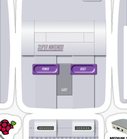 Nintendo SNES (USA) Skin for the Official case Sticker