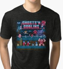 Goblins n' Ghosts Tri-blend T-Shirt