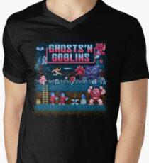 Goblins n' Ghosts Men's V-Neck T-Shirt