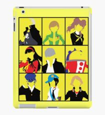 pursuers of truth iPad Case/Skin