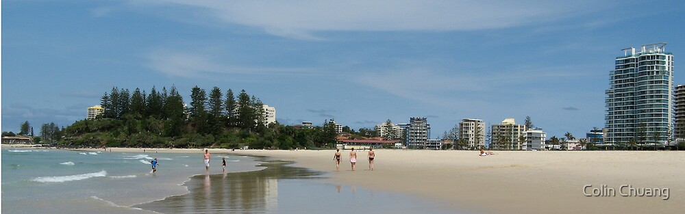 Tweed Heads Beach by Colin Chuang