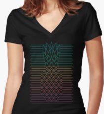 Hala Kahiki Women's Fitted V-Neck T-Shirt