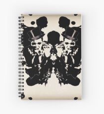 INK BLOT Spiral Notebook