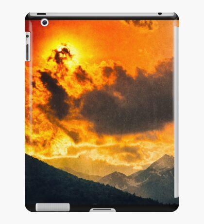 Sunset over Italian Alps iPad Case/Skin