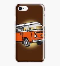Bay Window Campervan Sunburst iPhone Case/Skin