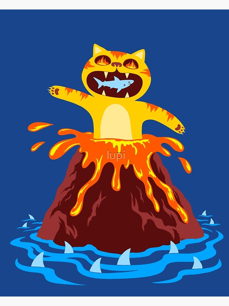 Volcano Cat by lupi