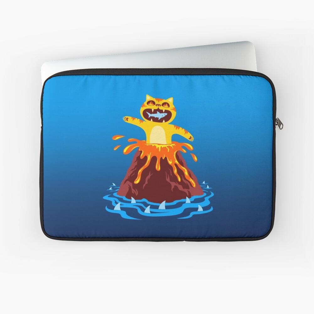 Volcano Cat Laptop Sleeve