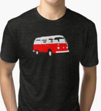 Bay Window Red White Essence (see description) Tri-blend T-Shirt