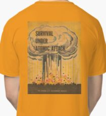 Survival, Atomic, Atomic Bomb, Attack, Poster, 1950 Classic T-Shirt