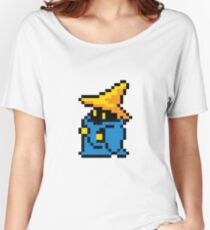 pixel black mage Women's Relaxed Fit T-Shirt