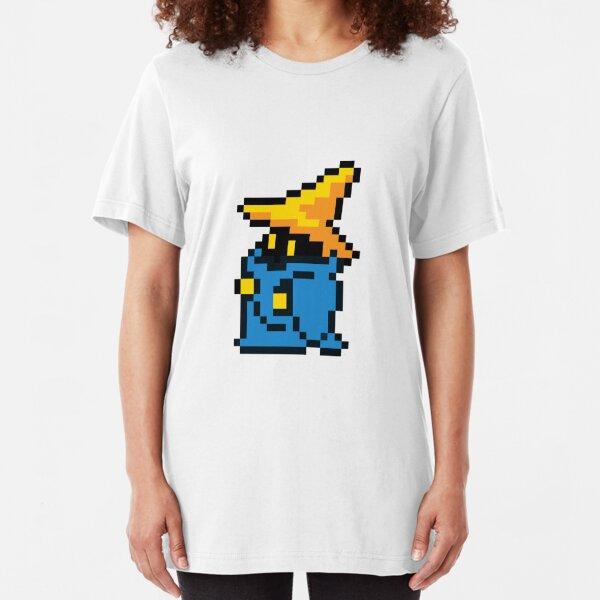 pixel black mage Slim Fit T-Shirt