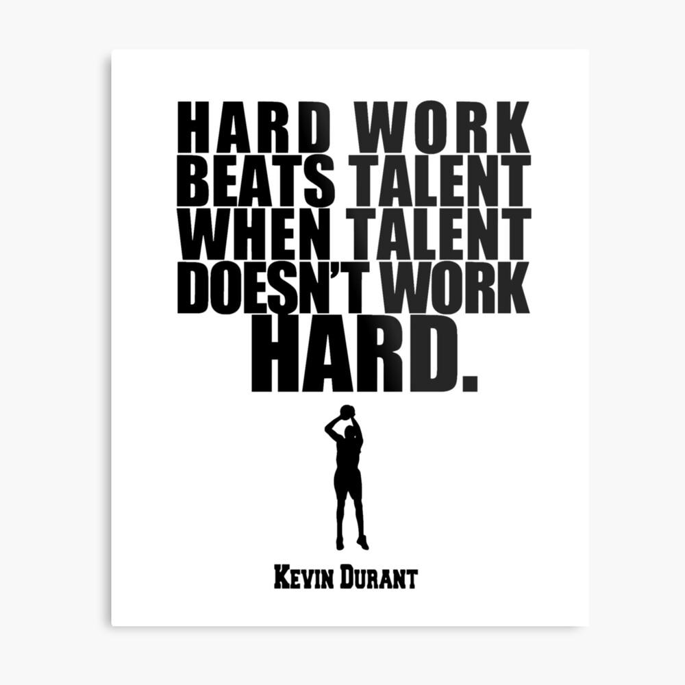 Kevin Durant Lámina metálica