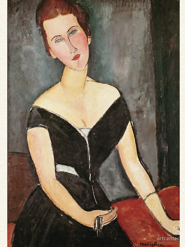 Amedeo Modigliani - Madame G. Van Muyden von artcenter