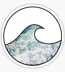 Ocean Wave 4 Sticker