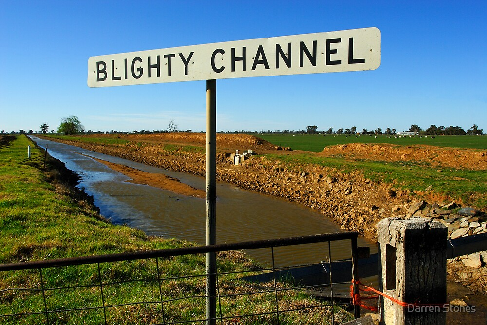 Blighty Channel by Darren Stones