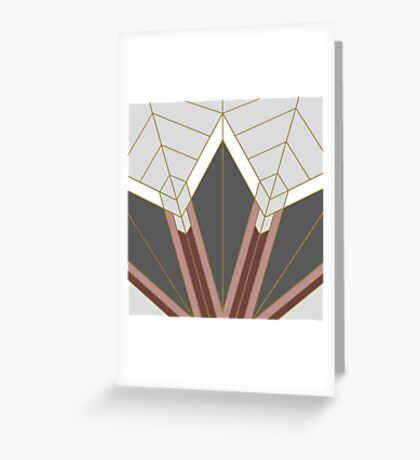 ART DECO G1 Greeting Card