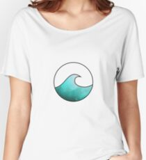 Watercolor Wave 3 Women's Relaxed Fit T-Shirt