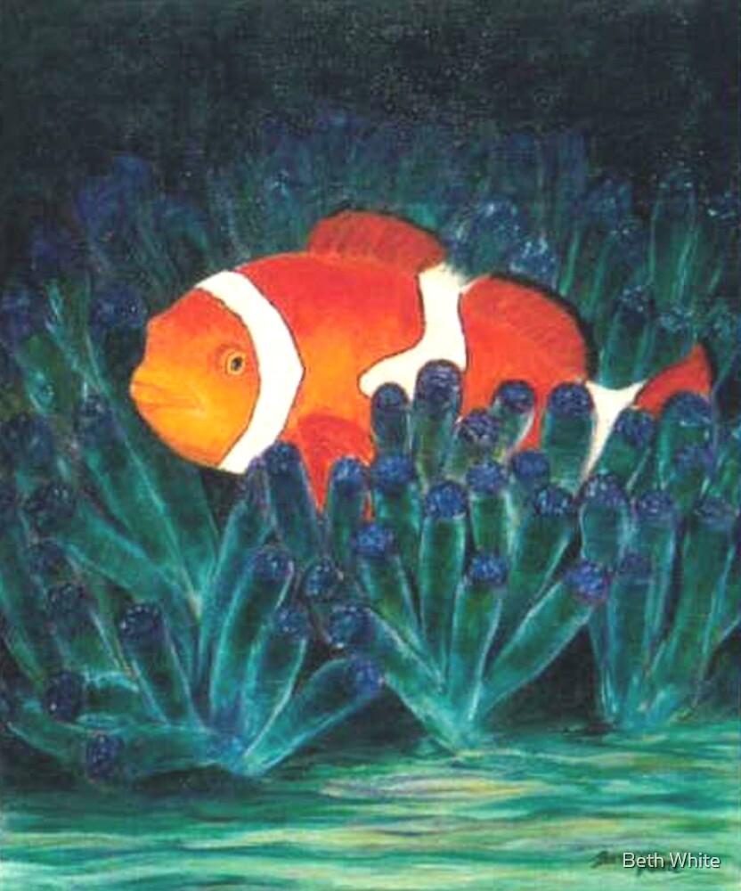 Tropical Clown Fish by Beth White
