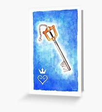 Keyblade Greeting Card