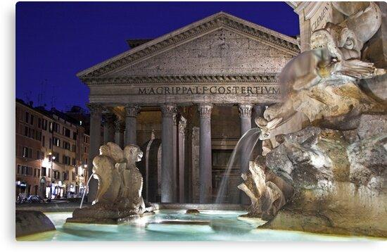 Rome - Pantheon by Claudia Reitmeier