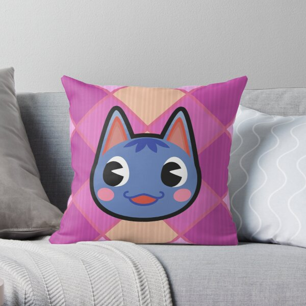 ROSIE ANIMAL CROSSING Throw Pillow