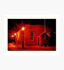 """The Temperance Hall"" Art Print"