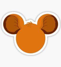 Simba Mickey Ears Sticker
