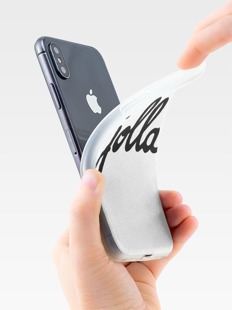 Alternate view of Jolla goodies iPhone Case