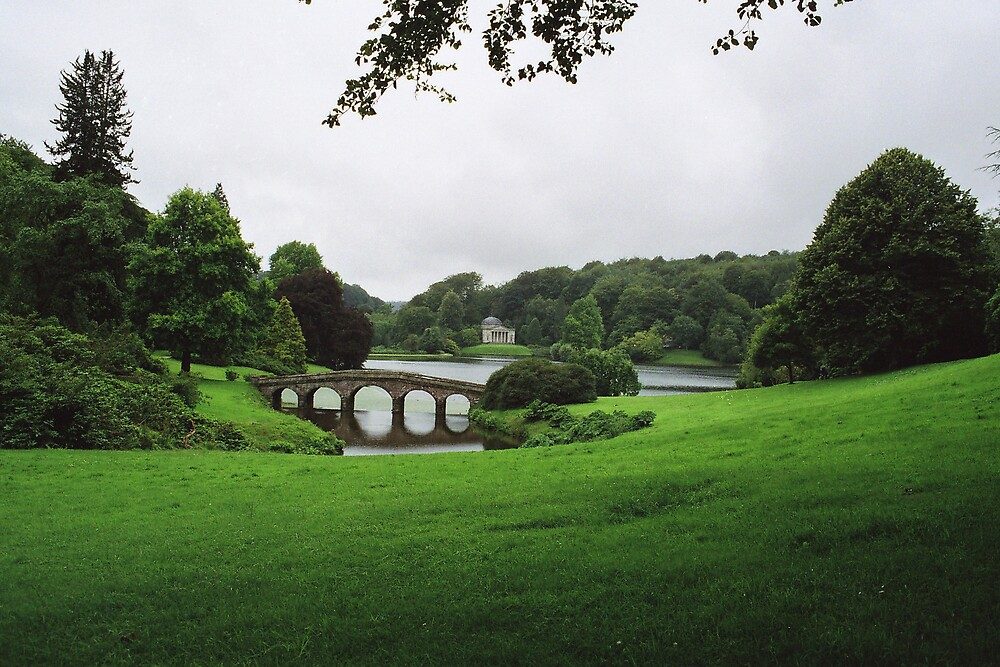 bridge over water by calipix