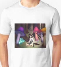Mushroom Circle Unisex T-Shirt