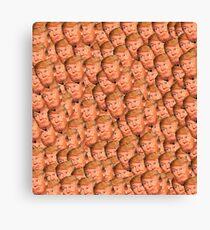 TRUMPCEPTION - Donald trump faces meme Canvas Print