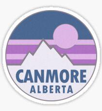 Canmore Alberta Canada Sticker