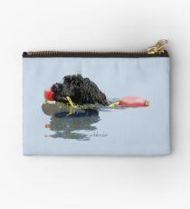 Bolso de mano Perro de agua portugués recuperando una línea de flotación