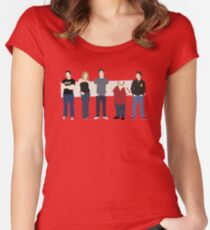 Paddy's Pub Gang Women's Fitted Scoop T-Shirt
